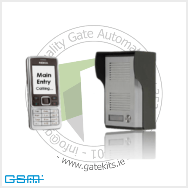 Gsm Gate Entry Intercom System - Gsm Intercom