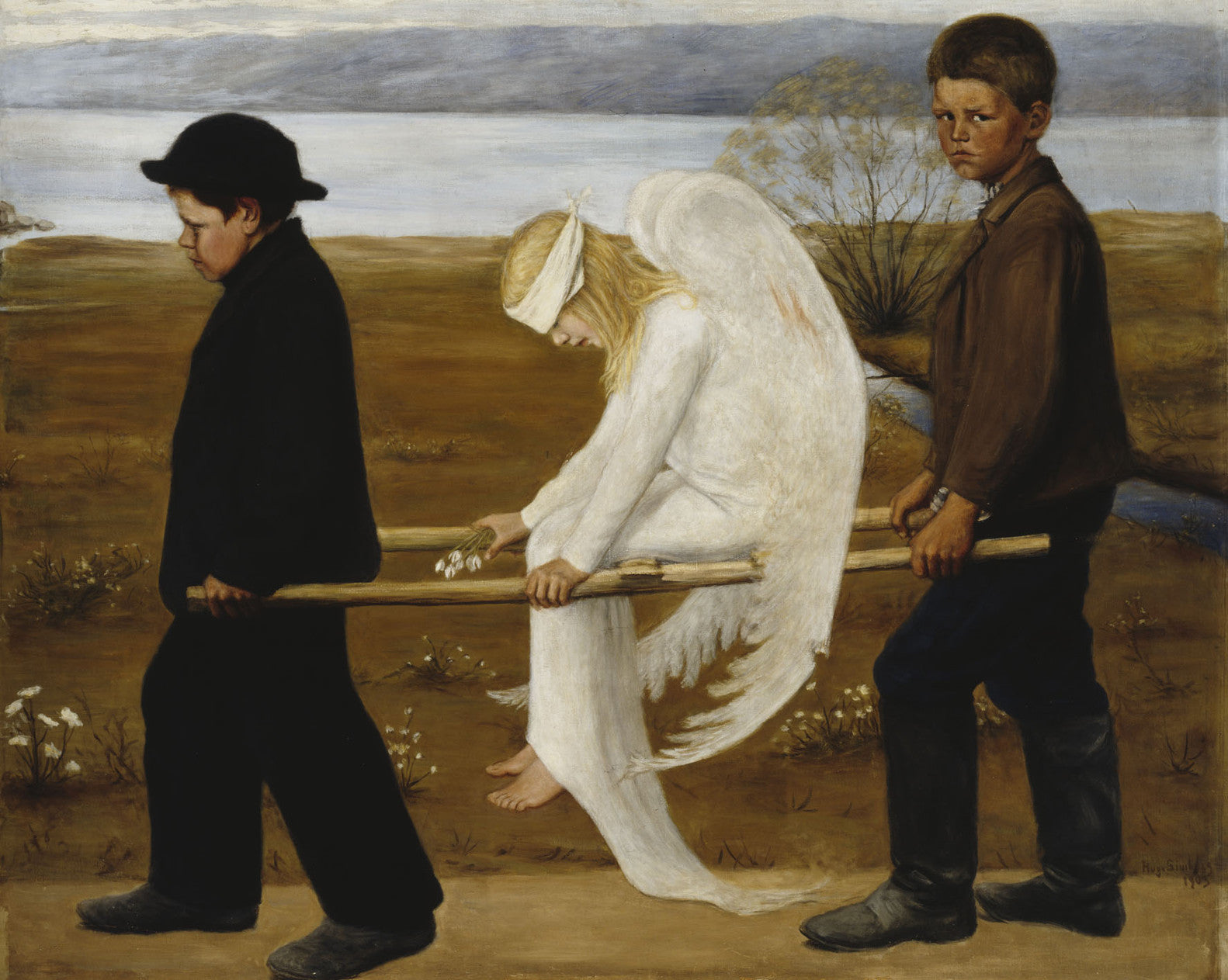 Hugo Simberg, The Wounded Angel, 1903
