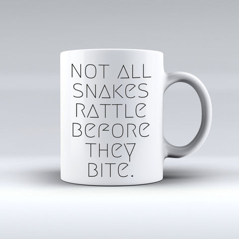Not All Snakes Rattle Before They Bite !   | Text