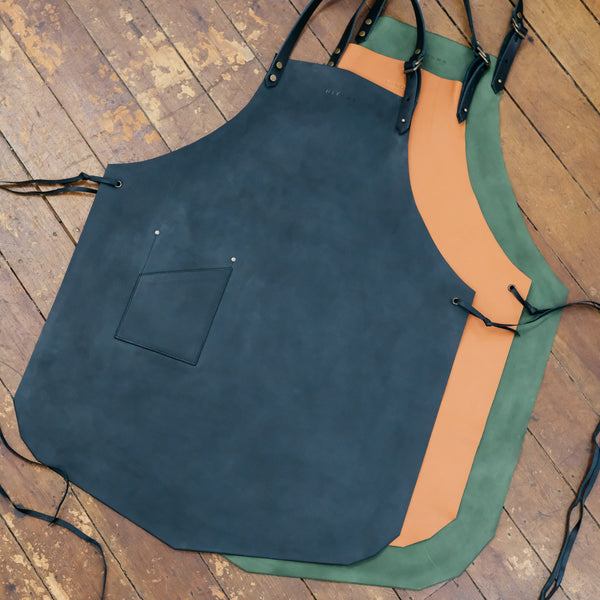 Leather Apron with strap