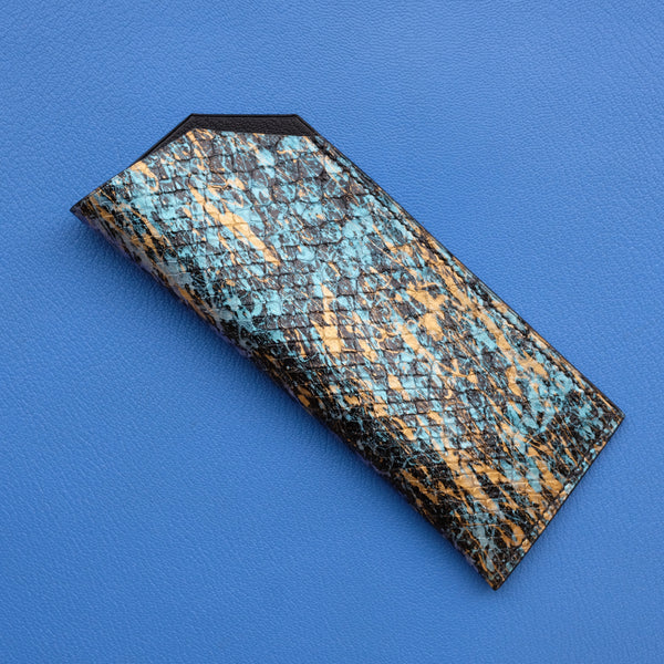 Eyewear Sleeve - Python Leather