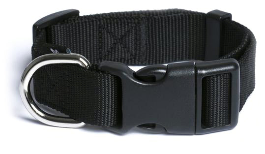 Black Nylon Collar