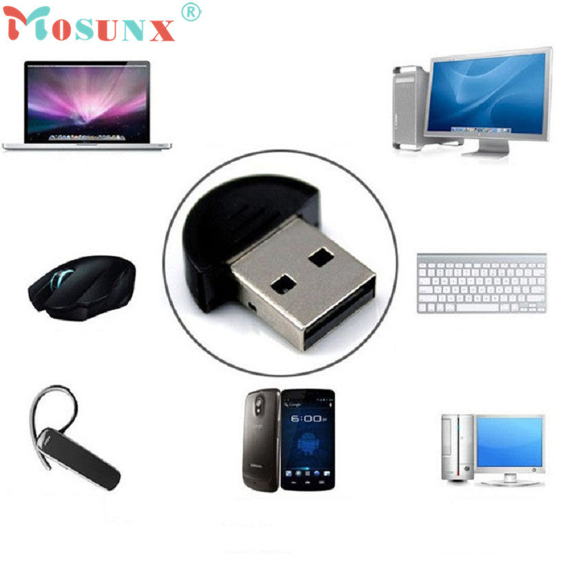 Portable Mini USB Bluetooth Dongle Adapter for Laptop PC Win Xp Win7 Win8 - Diana's Space
