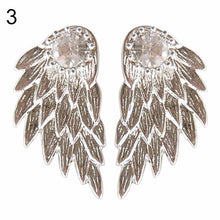 Women's Angel Wings Rhinestone Earrings - Diana's Space