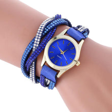 Women's Leather Bracelet Watch  Quartz Analog - Diana's Space