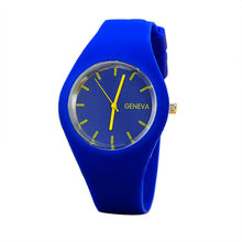 Geneva Sports Candy-colored Jelly Silicone Strap Leisure Watch - Diana's Space