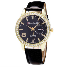 Unisex Candy Color Watch Leather Strap Analog Quartz - Diana's Space