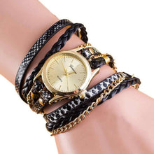 Wrap Around Leather Bracelet Watch - Diana's Space