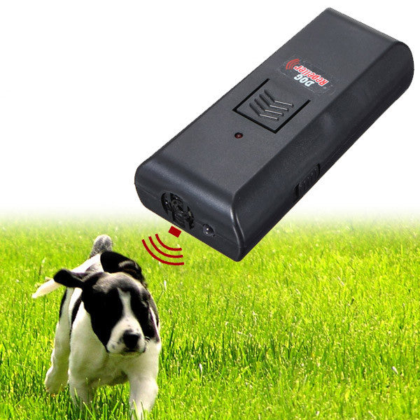 Ultrasonic Pet Dog Repeller Stop Barking Train Training Dog Trainer - Diana's Space