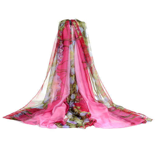 Chiffon Winter  Women Scarves - Diana's Space