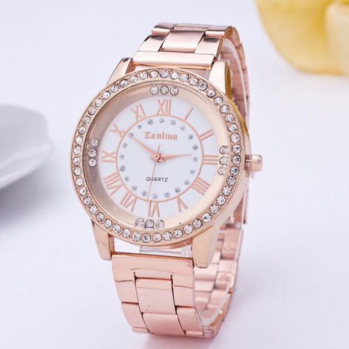 Crystal Rhinestone Watch 3 Colors - Diana's Space