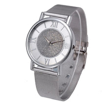 Crystal Gold Watches Quartz Watch Stainless Steel Quartz - Diana's Space