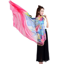 Autumn Womens' Colorful Chiffon Scarves - Diana's Space