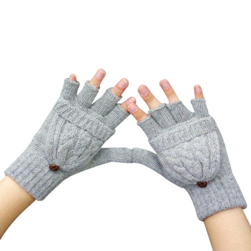 Women Convertible Gloves (Mitten) Warmer - Diana's Space