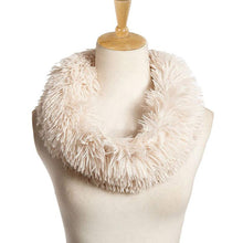 Womens Fur Round Collar Winter Neckerchief - Diana's Space