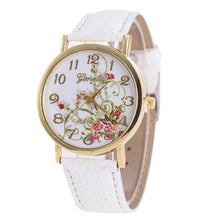 Geneva Women's  Flower Dial Watch - Diana's Space