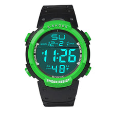 HONHX Waterproof Men's Watch LCD Digital Stopwatch Date Rubber Sport Wrist Watch - Diana's Space