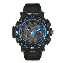 Waterproof Multi Function Digital LED Quartz Sports Watch - Diana's Space
