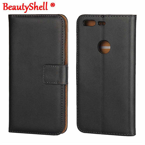 BeautyShell Genuine Wallet Leather Case For Google Pixel 5.0in Pixel XL 5.5in - Diana's Space