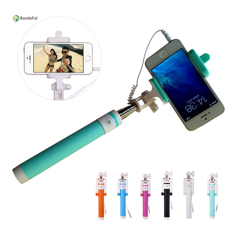 Mini Extendable handheld monopod selfie stick - Diana's Space