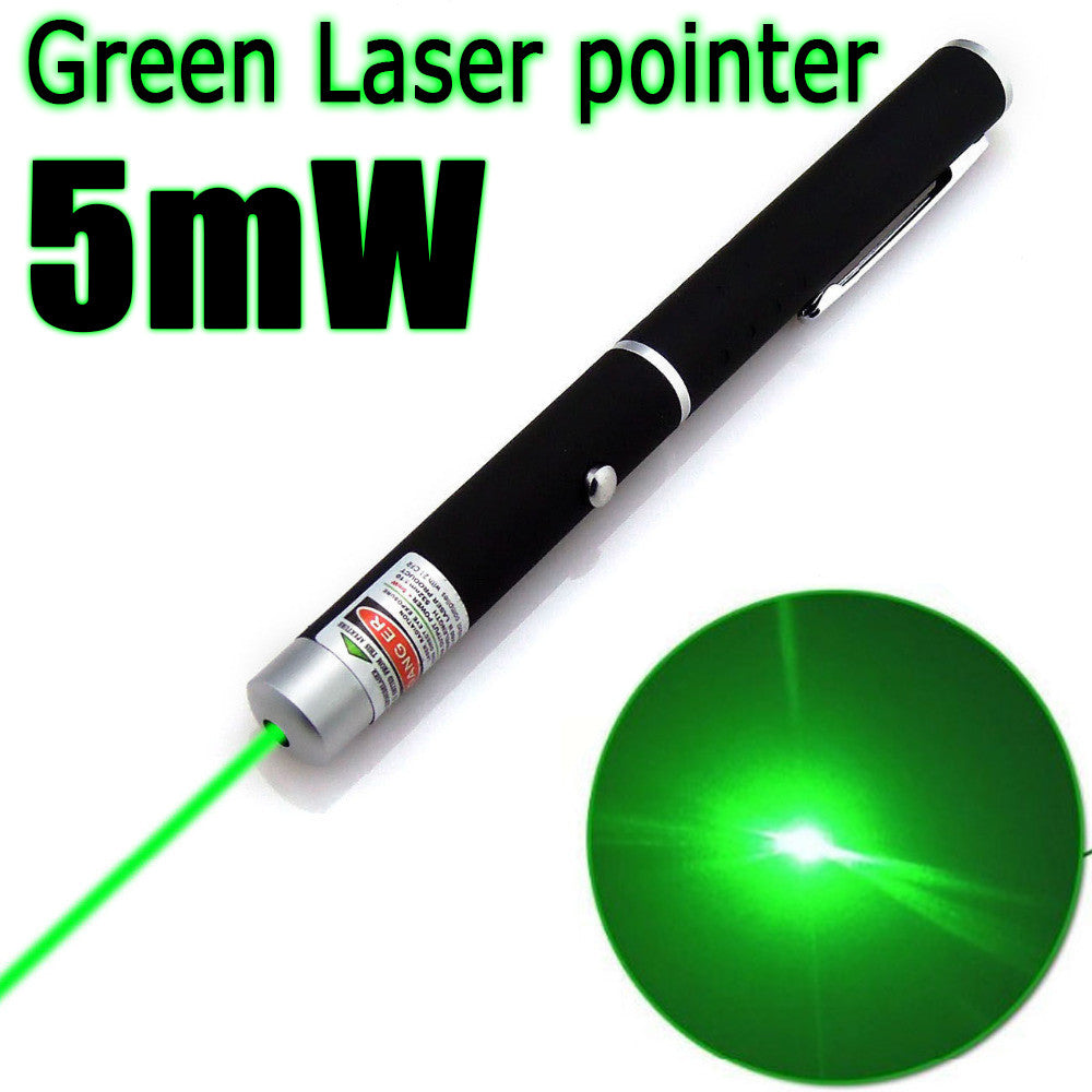 Powerful Laser Pointer Pen Beam Light 5mW Professional High Power Laser - Diana's Space