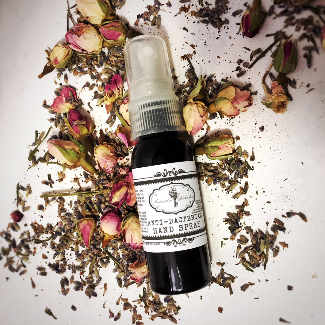 Natural Lavender Anti-Bacterial Hand Spray