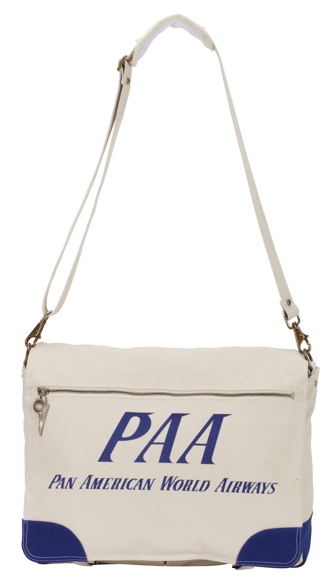 Pan Am Vintage Messenger Bag