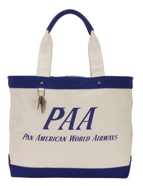 Pan Am Vintage Canvas Tote Bag