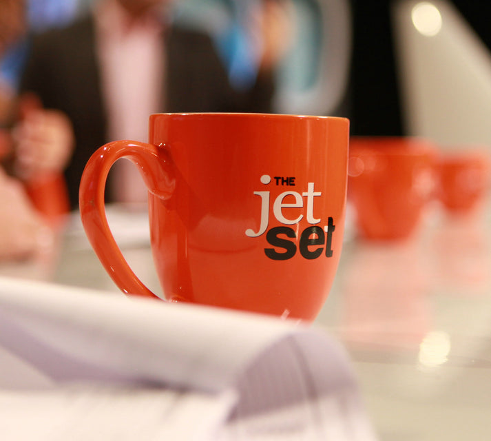 The Jet Set Coffee Mug