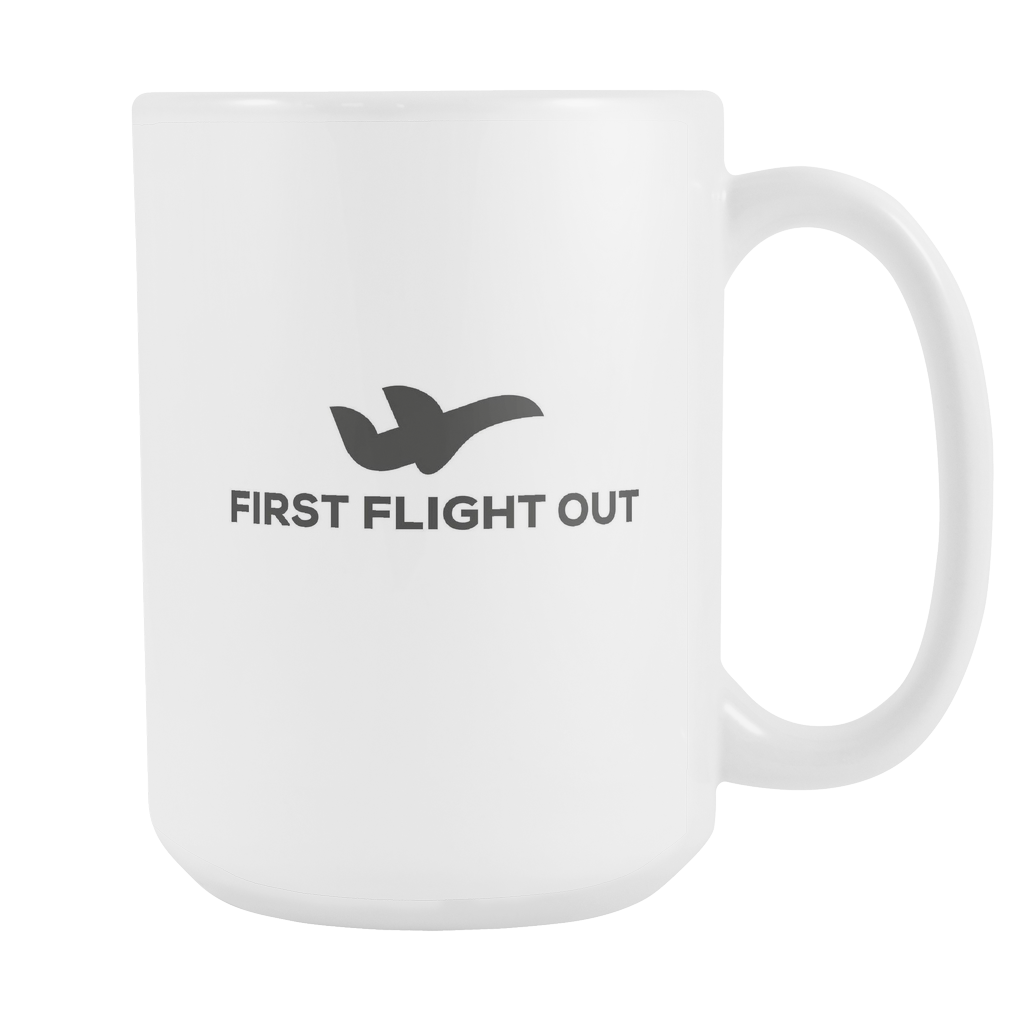 The First Flight Out Mug