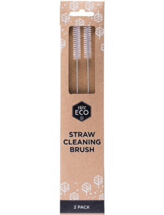 Ever Eco Cleaning Brush | Pack of 2 | For Stainless Steel & Bamboo Straws - Integrity Lane