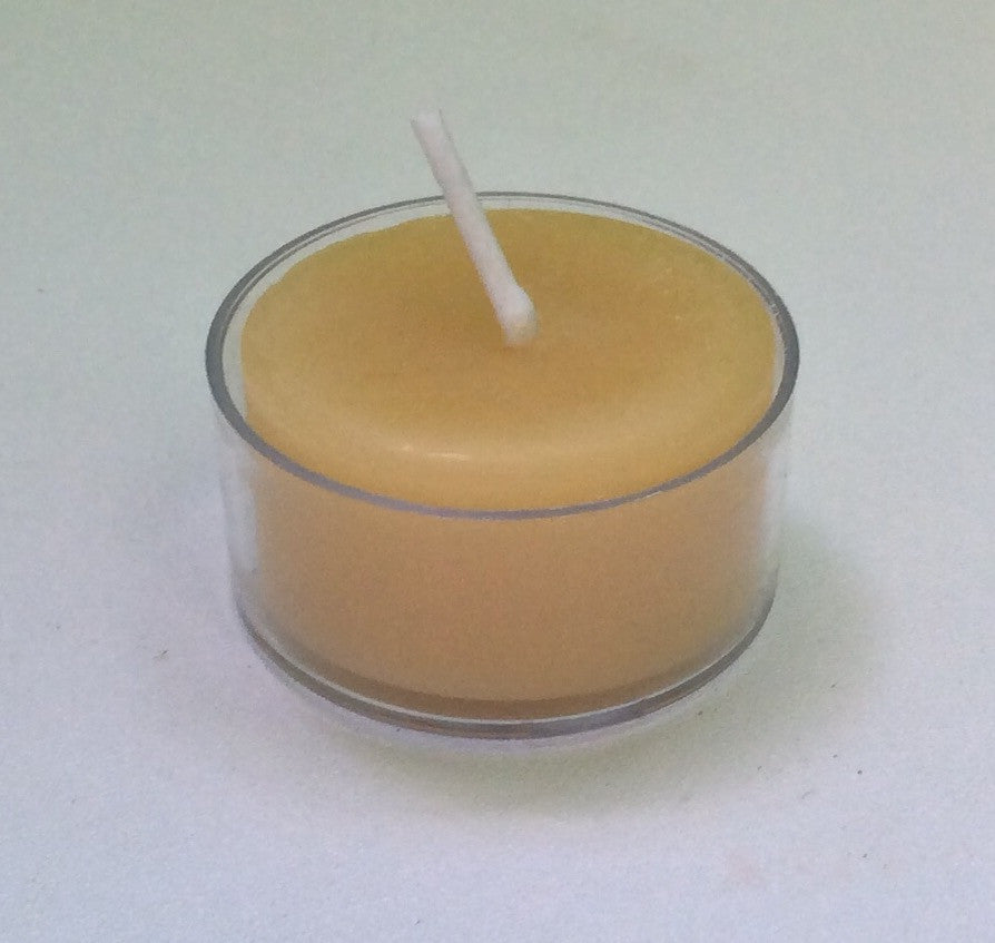 Beeswax Tealight Candle - single - Integrity Lane