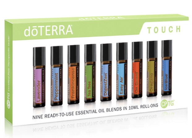 Doterra Touch Kit | 9 Most Popular Roller Essential Oils - Integrity Lane
