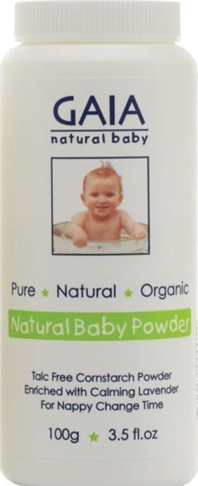 Gaia Baby Cornstarch Powder 100g - Integrity Lane