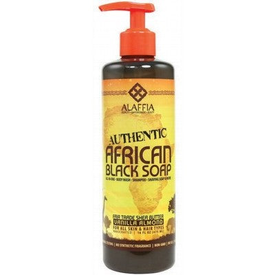 Fair Trade Alaffia African Black Soap - 475ml - Integrity Lane
