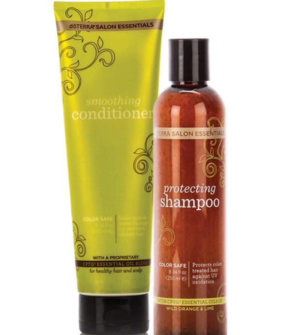 Doterra Salon Essentials® Protecting Shampoo and Smoothing Conditioner - Integrity Lane
