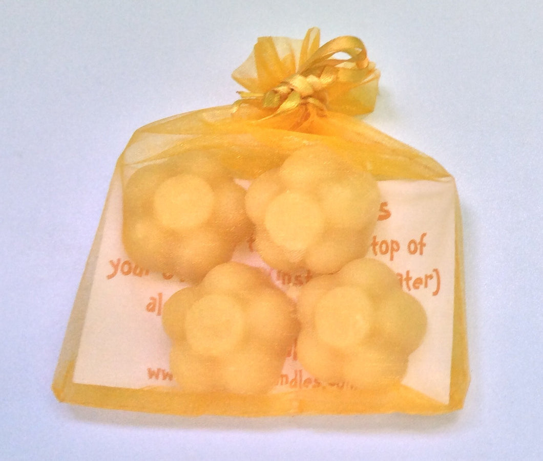 Beeswax Oil Burner Melts - 4 pack - Integrity Lane