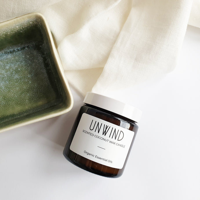Unwind - Coconut Wax Jar Candle