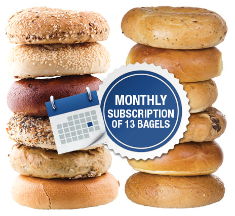 13 New York Bagels Subscription