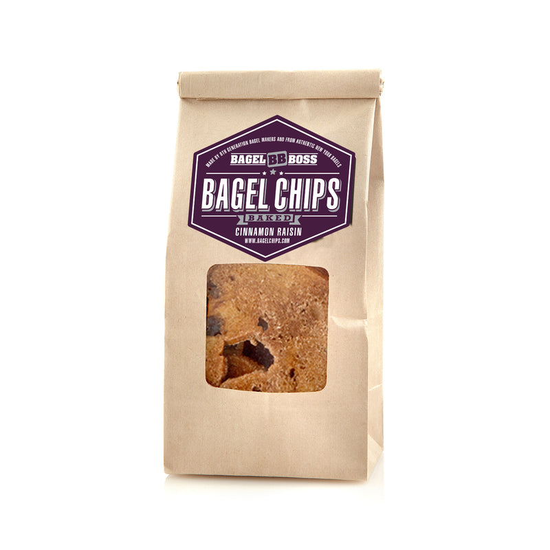 Bagel Boss - Cinnamon Raisin Bagel Chips