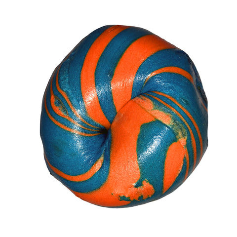 Blue & Orange Bagels
