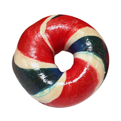 Red, White & Blue Voting Bagels