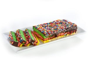Pack of 10-12 Rainbow Cookies
