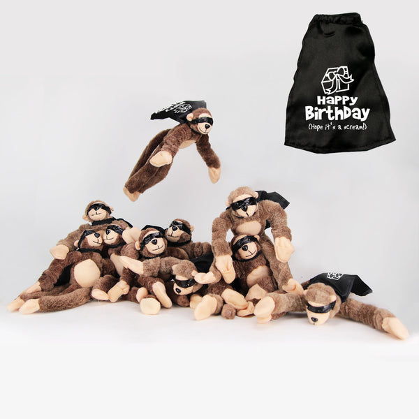 "Super Fly Monkey ""Happy Birthday! (Hope it's a scream) 10-Pack"