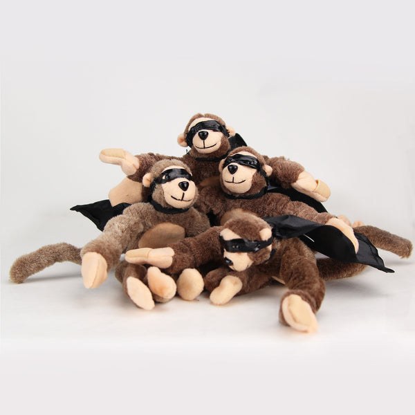 "Super Fly Monkey ""BFF'S 4-Ever"" 4-Pack"