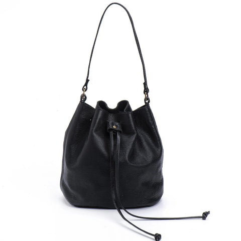 Large Fringe Bucket bag