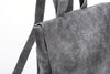 Classic Backpack Soft Grey Leather