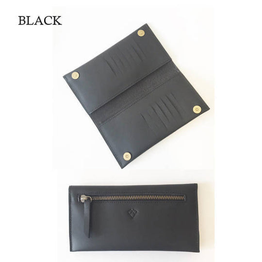 Classic wallet black leather