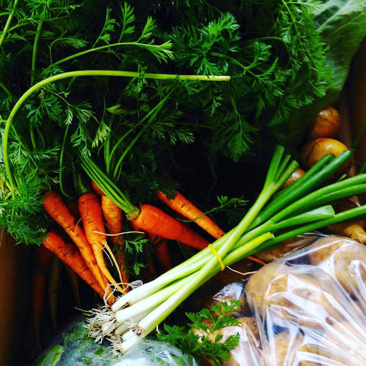 Annie's Farm Seasonal Organic Veggie Box-Large €30 - Annie's Farm Produce