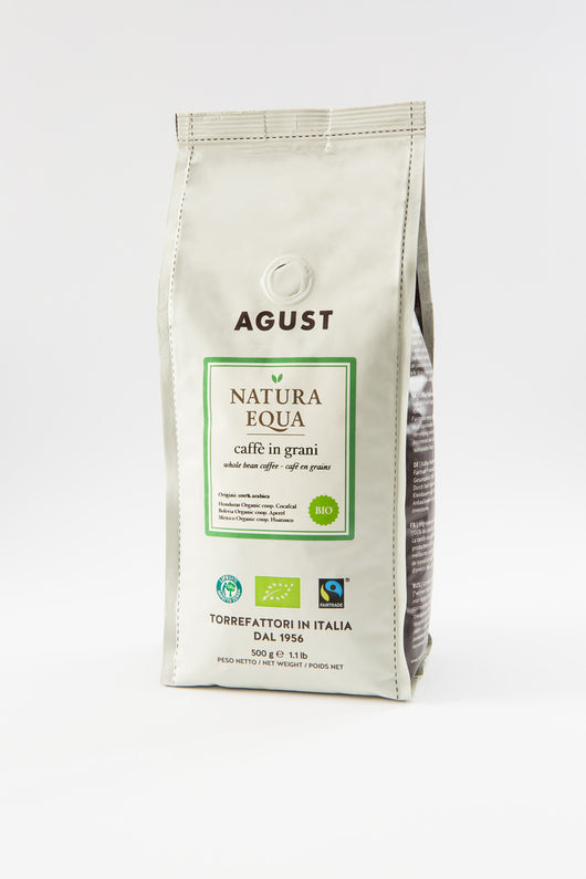 Natura Equa Coffee beans, 500g, Organic and Fairtrade - Annie's Farm Produce
